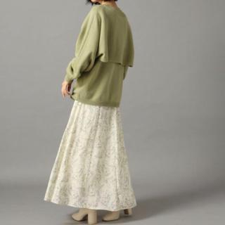 LOWRYS FARM - ローリーズファーム 花柄 線画 スカート 完売品