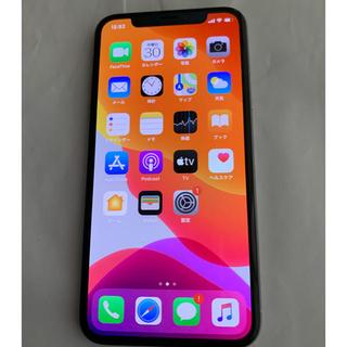 Apple - 美品 iPhonex 64gb  シルバー simフリー docomo