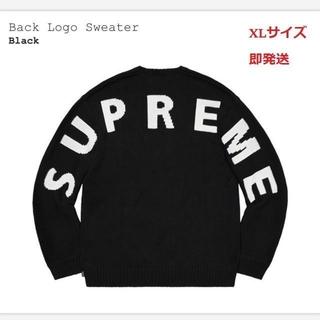 Supreme - 正規品 XL 20ss Supreme Back Logo Sweater