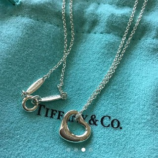ティファニー(Tiffany & Co.)の新品ティファニーオープンハートミニ(ネックレス)