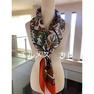 Hermes - エルメス カレ 90 スカーフ ハート デコパージュ