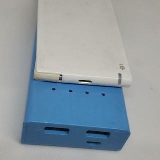 エレコム(ELECOM)のモバイルバッテリー2個セット(バッテリー/充電器)