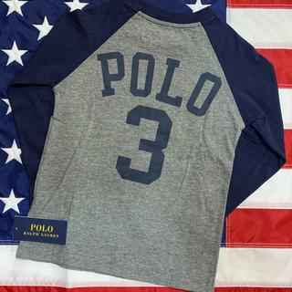 ポロラルフローレン(POLO RALPH LAUREN)の★SALE ★ラルフローレン長袖デザインTシャツ4T/110(Tシャツ/カットソー)