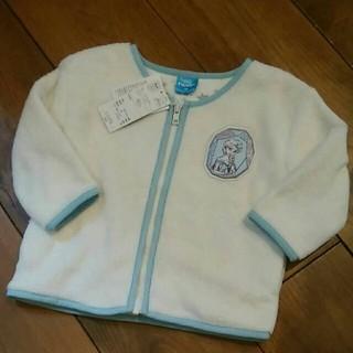 【未使用品】アナ雪 フリース ジャケット 90cm 幼児 上着 エルサ