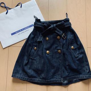 BURBERRY BLUE LABEL - バーバリーブルーレーベル デニムスカート 34