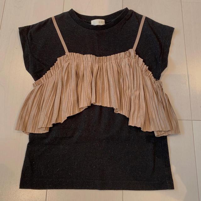 petit main(プティマイン)のトップス b.ROOM 美品 キッズ/ベビー/マタニティのキッズ服女の子用(90cm~)(Tシャツ/カットソー)の商品写真