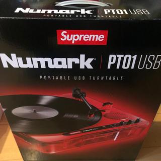 シュプリーム(Supreme)のSupreme Numark PT01 Portakle Turntable(ターンテーブル)