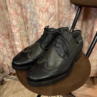 ランバン(LANVIN)の新品未使用 LANVIN ランバン ドレスシューズ  革靴 サイズ6(ドレス/ビジネス)