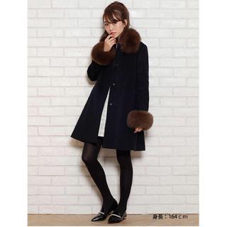 リランドチュール(Rirandture)の♡リラ♡スタンドファーAラインコート(毛皮/ファーコート)