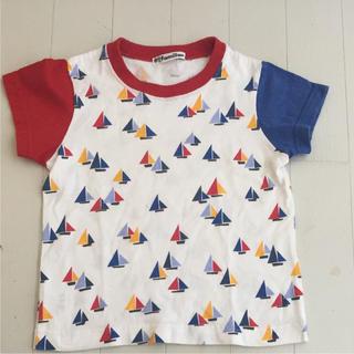 familiar - ファミリア ヨット柄 Tシャツ 100cm