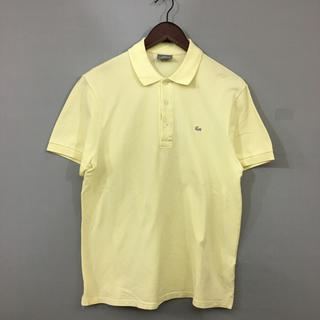 LACOSTE - ラコステ LACOSTE ポロシャツ 半袖 ファブリカ 日本製 銀ワニ ロゴ