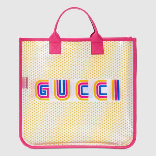 Gucci - 新品未使用 GUCCI キッズライン クリアトートの通販