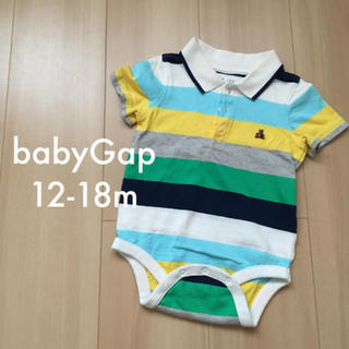 babyGAP - babyGAP 半袖ロンパース