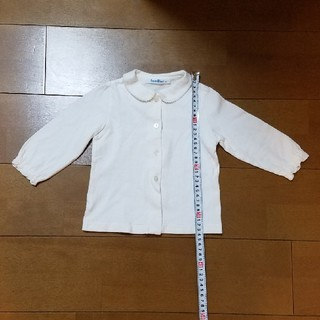 familiar - familiar 80センチ 白 シャツ