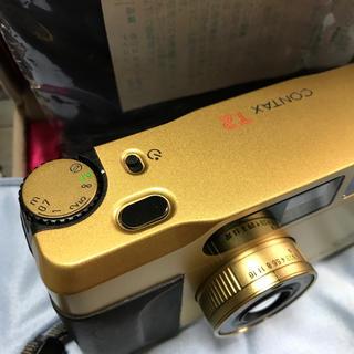 キョウセラ(京セラ)のコンタックスT2チタンゴールド(フィルムカメラ)