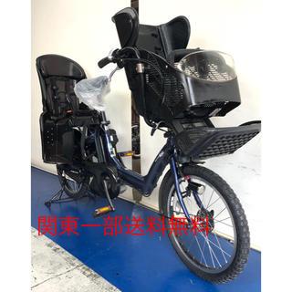 ヤマハ パスキッスミニ 20インチ 3人乗り 8.7ah デジタル 電動自転車(自転車本体)