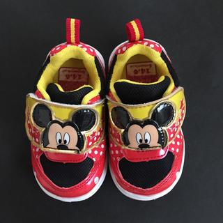 ミッキーマウス(ミッキーマウス)の13,0cm☆ミッキー スニーカー(スニーカー)