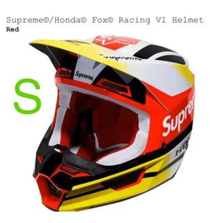 シュプリーム(Supreme)のSupreme Honda Fox Racing V1 Helmet RED(ヘルメット/シールド)