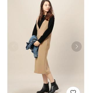 BEAUTY&YOUTH UNITED ARROWS - ビューティ&ユースBEAUTY&YOUTHのBY ダブルクロスジャンパースカート