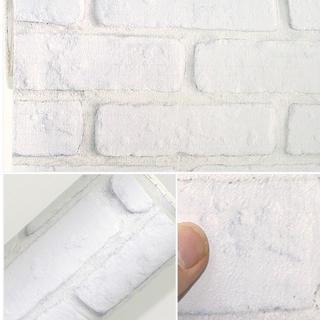 壁紙シール レンガ DBS-24 50cm×3m はがせる壁紙 シールタイプ