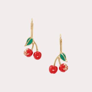 Vivienne Westwood - ヴィヴィアンウエストウッド misty drop earrings さくらんぼ