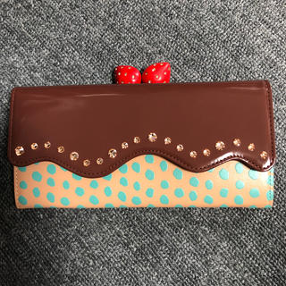TSUMORI CHISATO - ツモリチサト  ケーキ 財布 ウォレット いちご