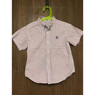 familiar - ファミリア 半袖シャツ チェックシャツ 120