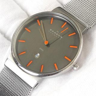 スカーゲン(SKAGEN)のメンズ 腕時計 351LSSMO クオーツ 日付 カレンダー ステンレス(腕時計(アナログ))