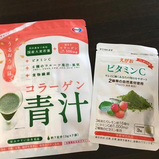 エーザイ(Eisai)のエーザイ 美チョコラ コラーゲン青汁 えがお ビタミンC(コラーゲン)