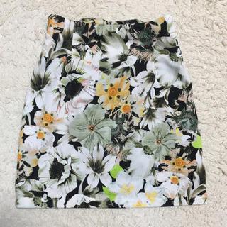 snidel - ミニスカート花柄