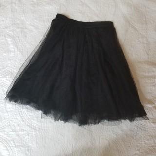 アナップ(ANAP)のnohea チュールスカート(ひざ丈スカート)