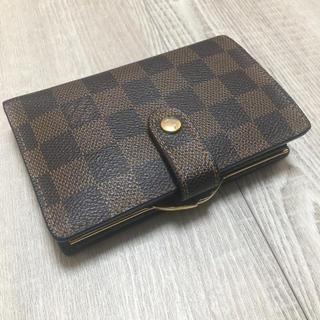 LOUIS VUITTON - 極美品 がま口財布 ルイヴィトン ダミエ 二つ折り財布 新型