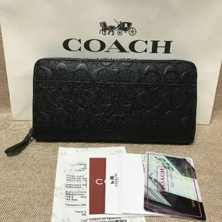 COACH - Coach☆シグネチャー PVC レザー 長財布 国内発送F74918