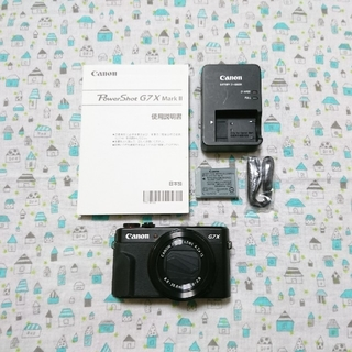 Canon - 【美品】Canon PowerShot G7X Mark II