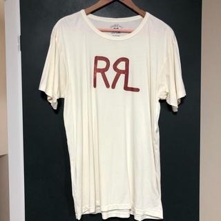 RRL - RRL ロゴクルーネックTシャツ