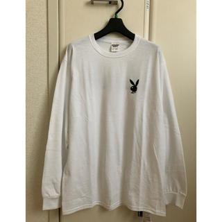 プレイボーイ(PLAYBOY)の新品ローリーズファーム×PLAYBOYコラボバックプリントロンT(Tシャツ(長袖/七分))