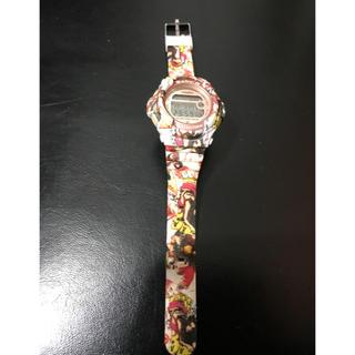ベビージー(Baby-G)のBABY-G リメイク カスタム  ステッカーボム(腕時計)