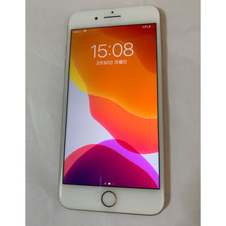 Apple - 美品 iPhone8 plus 64gb  ゴールド simフリー docomo