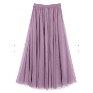 GRL - GRL グレイル 美品 チュールスカート ロングスカート チュール スカート
