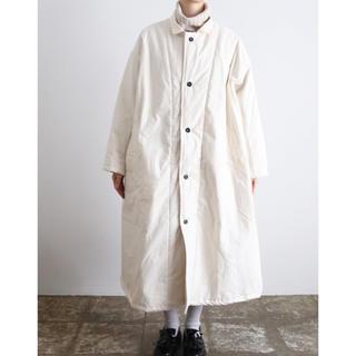 nest Robe - yarmo ヤーモ キルティング コートQuilt Lined Coat