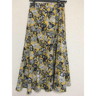IENA SLOBE - マーメイドフラワースカート