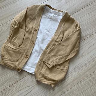MUJI (無印良品) - カーディガン&Tシャツ
