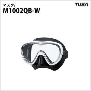ツサ(TUSA)のダイビング・ゴーグル・TUSA・M1002QB(W)(マリン/スイミング)
