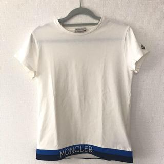 モンクレール(MONCLER)のモンクレールキッズ 14A  カットソー Tシャツ オフホワイト(Tシャツ(半袖/袖なし))