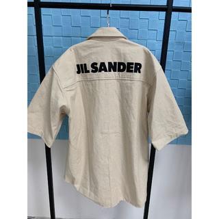 Jil Sander - 【Jil Sander】バックロゴ ショートスリーブ シャツ