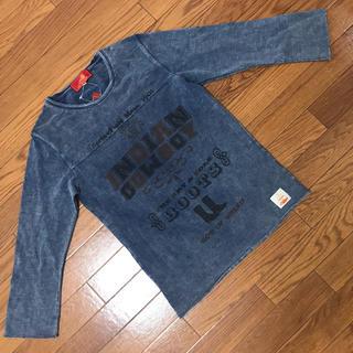 インディアン(Indian)のインディアンモトサイクル ビンテージ加工7分Tシャツ(Tシャツ/カットソー(七分/長袖))