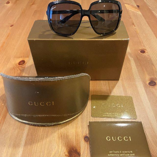 Gucci - 【レア】GUCCI サングラス(付属品込み)の通販