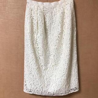 ANAYI - ANAYI レースタイトスカート 36