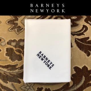 バーニーズニューヨーク(BARNEYS NEW YORK)のみぃちゃん1991様専用 ニューヨーク ハンカチ 白 46×46cm 日本製(ハンカチ)