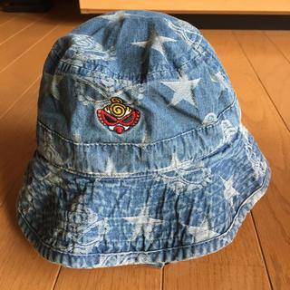 HYSTERIC MINI - ヒスミニ デニムの帽子 46cm